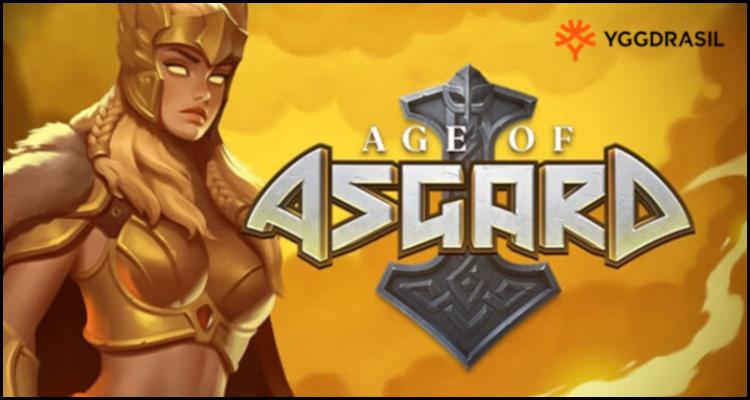 Yggdrasil Gaming Limited เตรียมพร้อมสำหรับการต่อสู้กับ Age of Asgard วิดีโอสล็อตใหม่